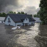 Der Alptraum jedes Hausbesitzers: Das Eigenheim unter Wasser.