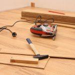 Die beliebtesten Bodenbeläge bestehen aus Holz.