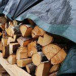 Brennholz sollte beim Verfeuern eine Restfeuchtigkeit von 20 Prozent aufweisen. Dafür ist eine optimale Lagerung erforderlich.